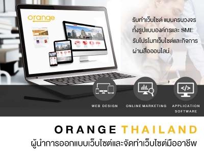 เว็บดีไซน์ Orange Thailand